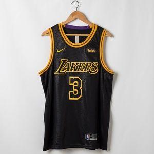 Los Angeles Lakers Anthony Davis Stitch Jersey